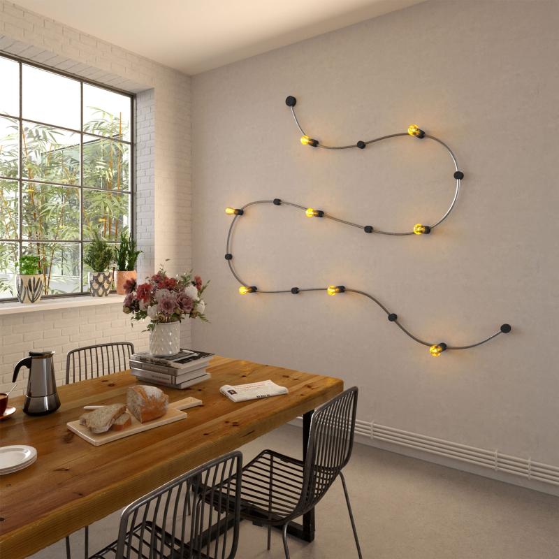 Wood String Light Terminal Block kit