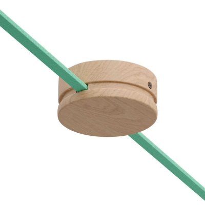 Wood String Light Canopy Cover Kit