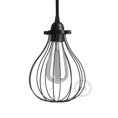 Drop Style Metal Pendant Light Shade