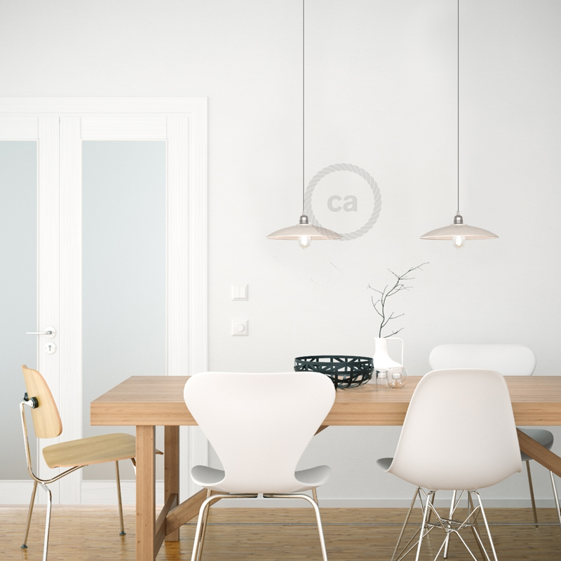 The Materia Collection   Dish Pendant Lampshade