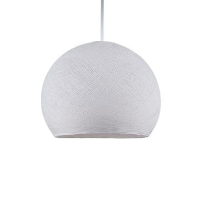 The Foldi Shade   Small Dome Pendant Lampshade - Handmade