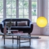 The Foldi Shade | Large Round Pendant Lampshade