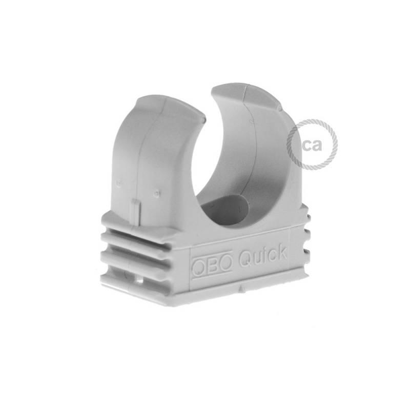 Plastic Cable Clip for Creative-Tube, 20 mm diameter