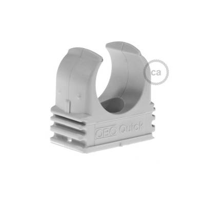 Plastic Cable Clip for Creative-Tube, 20 mm diameter