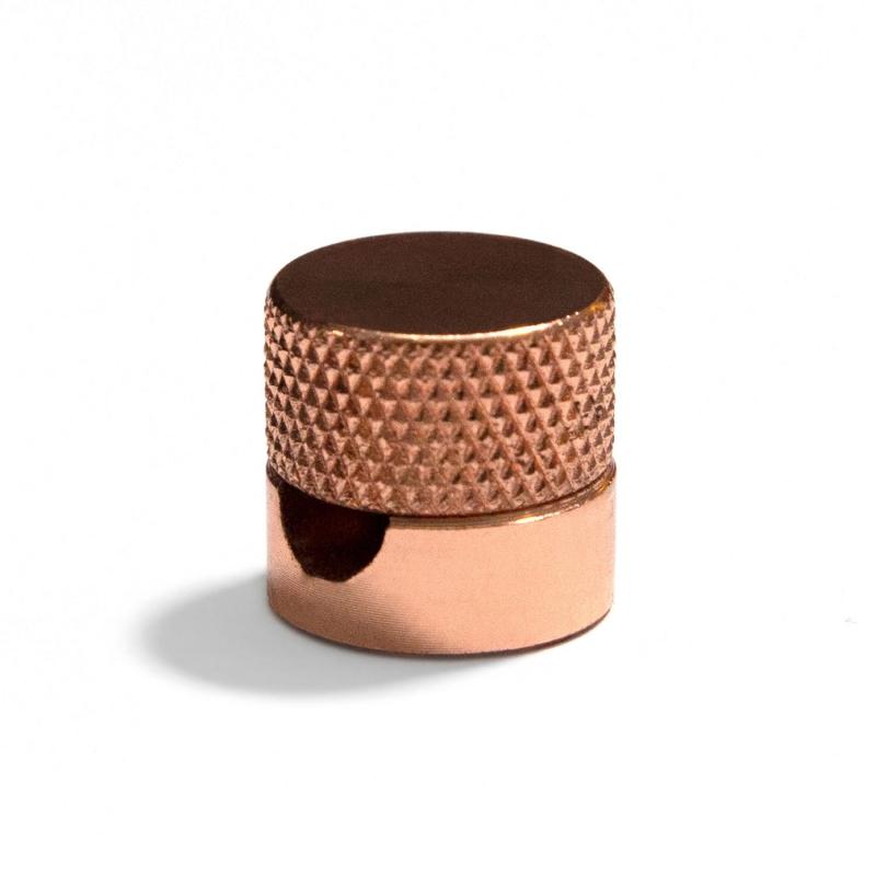 Sarè | Polished Copper (Rose Gold) Metal Fairlead