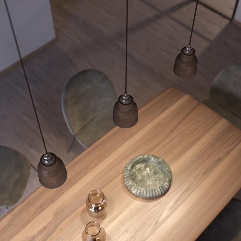 The Materia Collection | Short Pendant Lampshade