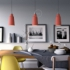 The Materia Collection | Tall Pendant Lampshade