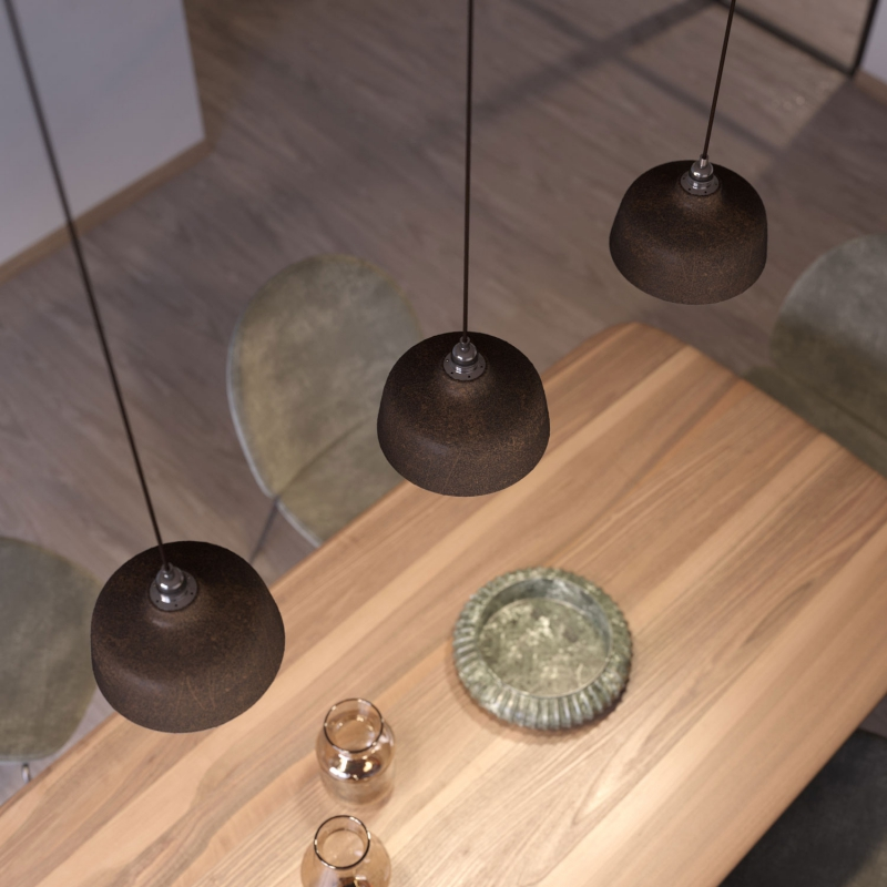The Materia Collection | Bowl Pendant Lampshade