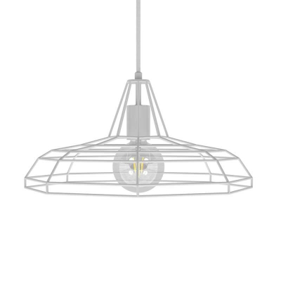 Pendant lamp with textile cable, Sonar lampshade and metal details