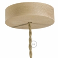 Wooden Ceiling Canopy Kit - for Pendant Light Cable
