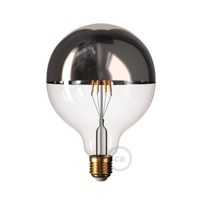 Silver 40HD | Half Dipped Bulb