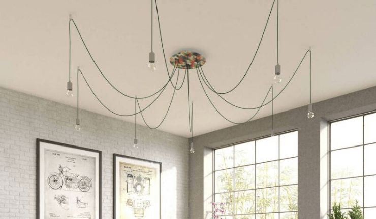 Design your perfect pendant light or swag chandelier
