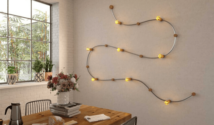 Filé, the easiest way to light walls and ceilings