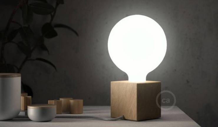 The posaluce lamp: the table lamp your're looking for
