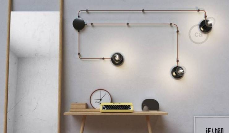 The spostaluce: a plugin wall sconce