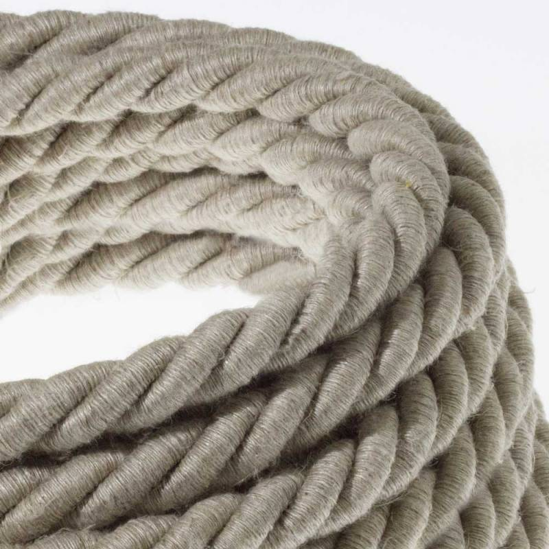 Rope Covered Electrical Wire Cable