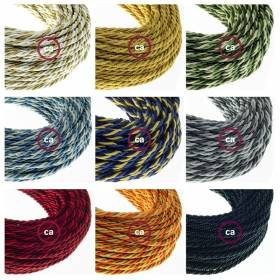 New classicly designed twisted Regimental cables