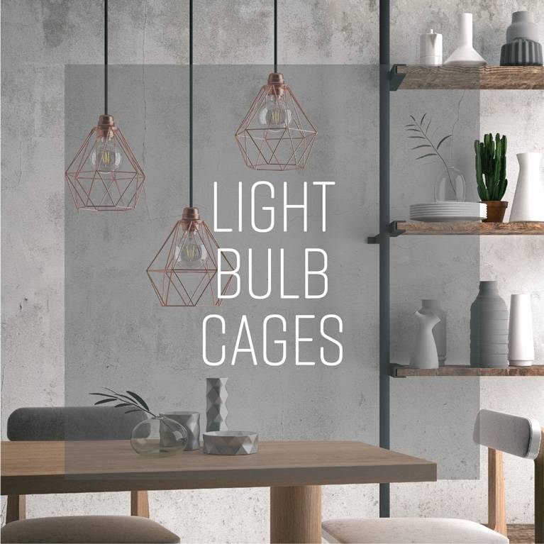 Light bulb cages