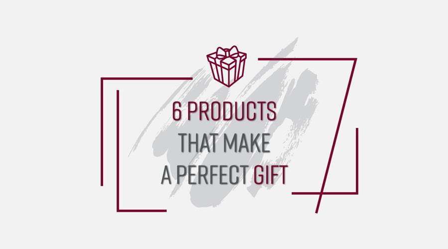 6 products that make a perfect gift