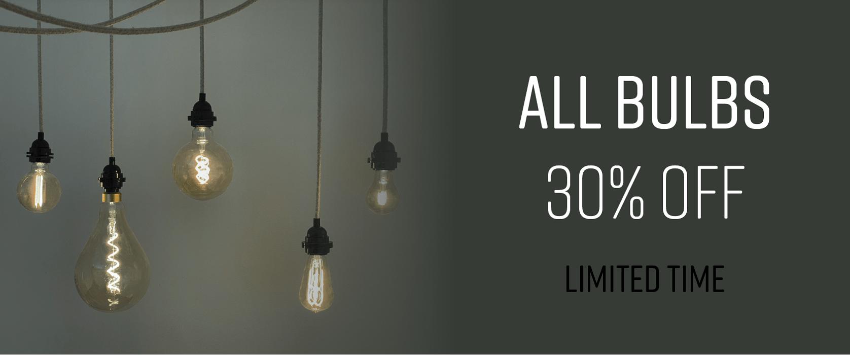 Light bulbs promo